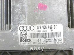 03g906016dt Set Ignition Start Audi A3 2.0 103kw 5p D Aut (2005) Exchange