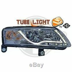1026487 Headlight Set Lighthouse Kit Audi A6 (4f2, C6)