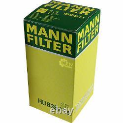 10l Mannol 5w-30 Break LL + Mann-filter Audi All Road 4bh C5 4.2 V8 Quattro
