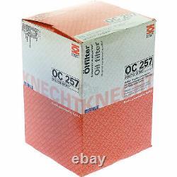 10x Original Mahle / Knecht Filter Oc 257 - 10x Sct Flush Engine Rinse