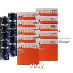10x Original Mahle / Knecht Filter Oc 593/4-10x Sct Flush Engine Rinse
