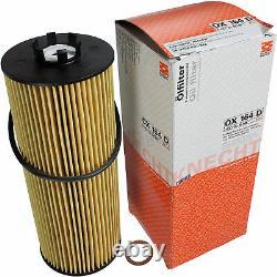 10x Original Mahle / Knecht Filter Ox 164d-10x Sct Flush Engine Rinse