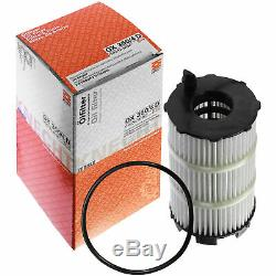 10x Original Mahle / Knecht Filter Ox 350 / 10x Sct 4d Engine Flush Flushing