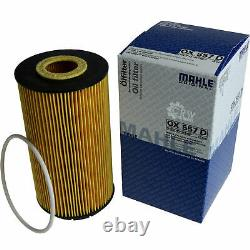 10x Original Mahle / Knecht Filter Ox 557d-10x Sct Flush Engine Rinse