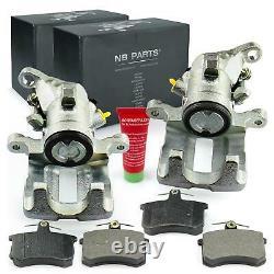 2x Brake Extender - Audi Rear Plate 100 200 80 90 A6 4a2 C4 A8 4d2 Coupe