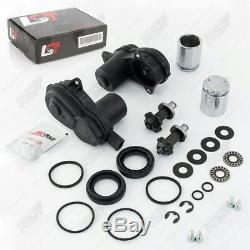 2x Electric Servo Motor Handbrake Repair Caliper Set Kit For Audi A4 8k B8