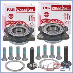 2x Fag Game Set Kit Front Wheel Bearing Audi A4 8d B5 B6 B7 8e 8h 00-06