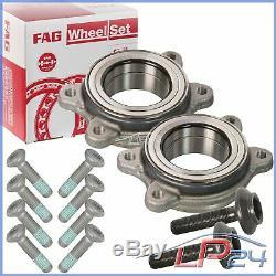 2x Fag Kit Set Bearing Wheel Bearing Front / Rear Porsche Macan