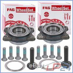 2x Fag Kit Set Set Front Wheel Bearing Audi A6 4b C5 97-05 A8 4d