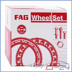 2x Fag Kit Set Set Wheel Bearing Front Wheel Audi A4 B5 8d B6 B7 8e 8h 00-06