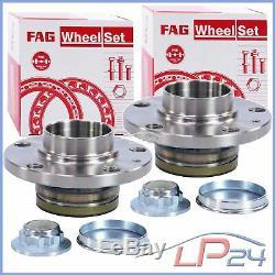 2x Fag Kit Set Set Wheel Bearing Rear Skoda Fabia 3 Nj 14