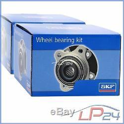 2x Skf Vkba3606 Wheel Bearing Hub Rear Axle Set Kit Game