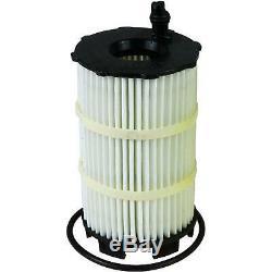 3x Original Oil Filter Mann Hu X 7005 + 3x Sct Engine Flush Flushing