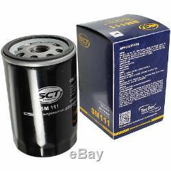 40x Original Sct Oil Filter Sm 111 + 40x Sct Engine Flush Engine Flushing