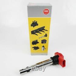 4x Ngk U5014 48041 Ignition Coil A4 A5 A6 A7 A8 Q7 R8 2.0 5.2 Fsi Tssi
