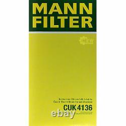 5x Mann Filter Filter On Mannol Cabin Air Filter Audi A8 4.2 Quattro 3.7 4e