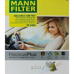 5x Mann Filter On Cockpit Mannol Air Rs5 Audi A5 Quattro 8t3