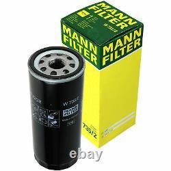 5x Original Mann Oil Filter W 735/2 - 5x Sct Flush Engine