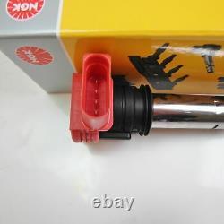 6x Ngk Ignition Reel High Voltage 2.7 3.2 V6 Turbo S4 Rs4 B5 Fsi U5014
