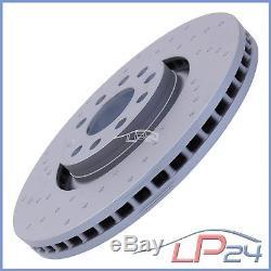 Ate Kit Set Disc Set 24.0130-0185.1 + Ceramic Brake Pads Front