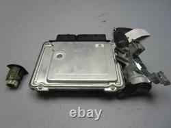 Audi A3 (8p1) 2.0 Tdi Engine Control 0281013154 03g906021gl Set Of Locks