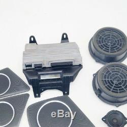 Audi A4 B8 Sound System Set Kit Bang & Olufsen 8t1035223a 2014 Driving To Left