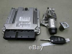 Audi A4 Before (8ed, B7) 2.0 Tdi Engine Control 03g906016gn Set Of Locks