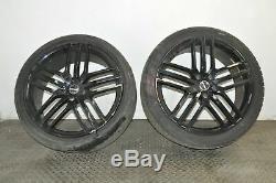 Audi Q7 4l 4.2 Tdi Quattro 2007 Rhd Alloy Wheels Set Kit 9jx22 Tires 10888297