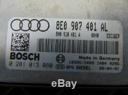 B7 Audi A6 3.0 Tdi 2004-2008 Ecu Set Kit Uk Version 8h0920950r / Warranty