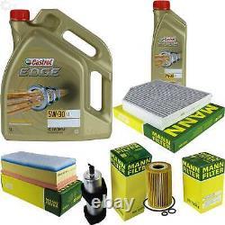 Castrol 6l Oil Oil 5w30 For Audi A4 Before 8k5 B8
