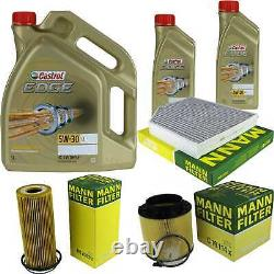 Castrol 7l Oil Oil 5w30 For Audi A5 Cabriolet 8f7