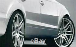 Character Oem Audi Q7 4l / 4l9 Guard Mud Extension Arch Wheel Kit Set Of 6