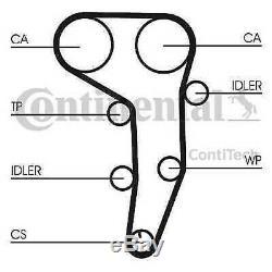 Contitech Continental Timing Belt Set Water Pump Kit Ct1051k1