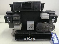 Ecu Starter Kit / Ecu Engine Lock Set Audi A3 2.0tdi 03g 906 021 Jh 0281013608