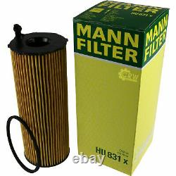Engine Oil 10l Mannol 5w-30 Break LL - Mann-filter Audi A6 4f2 C6 3.0 Tdi