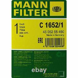 Engine Oil 10l Mannol 5w-30 Break LL - Mann-filter Audi A8 4e 3.0 Tdi Quattro