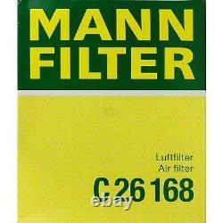 Engine Oil 10l Mannol 5w-30 Break LL + Mann-filter Filter Audi A6 4b C5 3.7