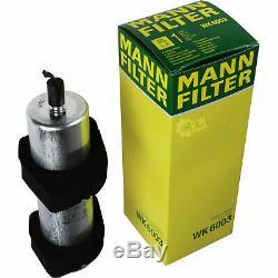 Engine Oil 5w-30 8l Mannol Break LI + Mann-filter Filter Audi A5 2.7 Tdi 8t3