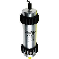 Engine Oil 6l Mannol 5w-30 Break LL + Mann-filter Filter Audi A6 4g2 C7 2.0