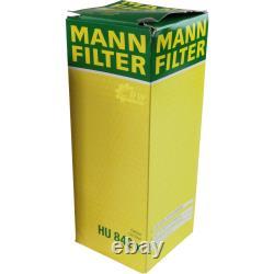 Engine Oil 6l Mannol Classic 10w-40 + Mann Filter Luft Audi A8 4d2 Filter