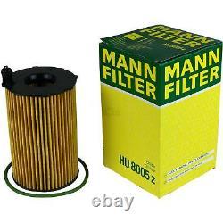 Engine Oil 7l Mannol 5w-30 Break LL + Mann-filter Audi A7 From Sportback 4ga 3.0