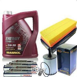 Filter Kit Inspection Set Engine Oil 5w30 1.9 Tdi Vw Touran Passat Golf A3
