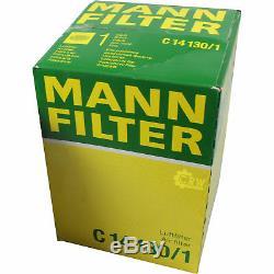 Filter Set Kit + 5w30 Engine For Audi A3 Sportback 8pa 8p1 Vw Eos 1f7