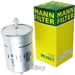 Filter Set Kit + 5w30 Engine Oil For Volkswagen Vw Audi A4 Front 8d5 B5 Passat