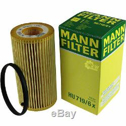 Filter Set Kit + 5w30 Motor Oil For Audi A3 Sportback 8pa 8p1 Vw Eos 1f7