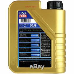 Filter Set Kit + 5w30 Motor Oil For Audi A3 Sportback 8va Limousine 8vs 8v1