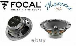Focal Isu 200 Csr-165 Set 6 High Speaker 20cm-16cm Audi A4 B8 08 A5 09 Brkt /