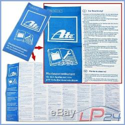 Game Kit Set Ate Power Disc Discs + 24.0330-0113.1 Brake Pads Before