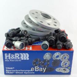 H & R Wheel Spacers For Abe Audi Q3 Type 8u 20 / 30mm Kit Sw