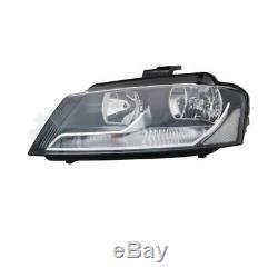 Headlight Set Kit For Audi A3 8pa Year Fab. 08-12 H7 / H7 Incl. Engines
